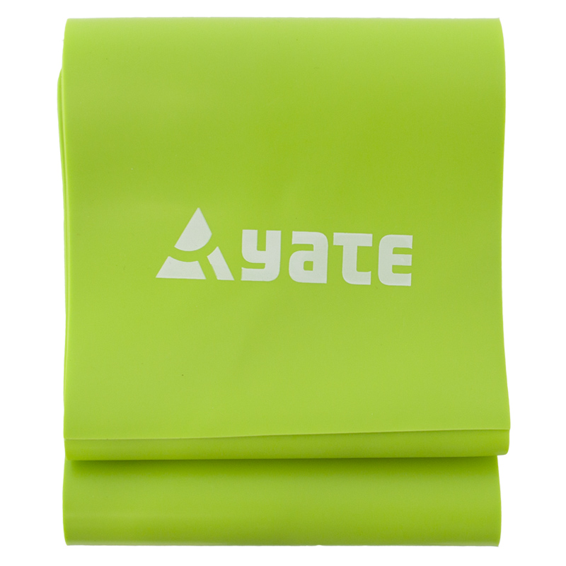 YATE FIT BAND  120x12cm  tuhý/zelený