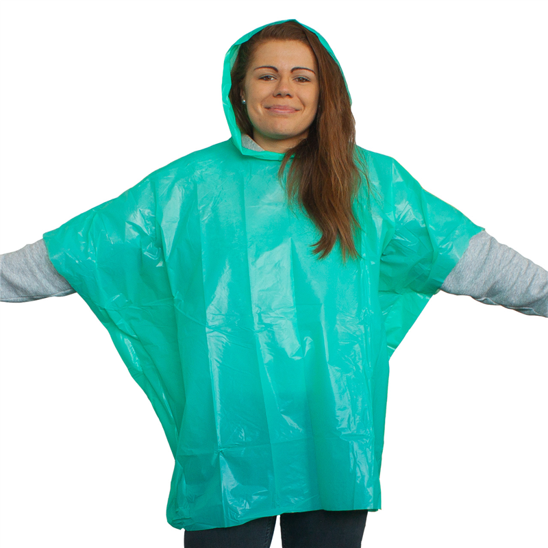 HIGHLANDER Mini Poncho zelená